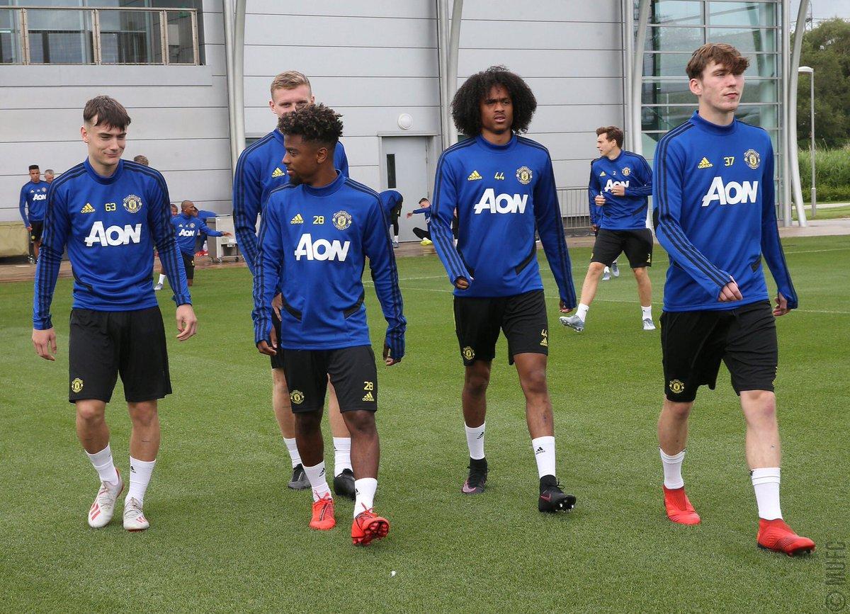 Manchester United's U23 talent: 🏴 Scott McTominay (22) 🏴 Dean Henderson (22) 🏴 Daniel James (21) 🏴 Marcus Rashford (21) 🏴 Aaron Wan-Bissaka (21) 🇵🇹 Diogo Dalot (20) 🇳🇱 Tahith Chong (19) 🏴 Angel Gomes (18) 🏴 James Garner (18) 🏴 Dylan Levitt (18) 🏴 Mason Greenwood (17)