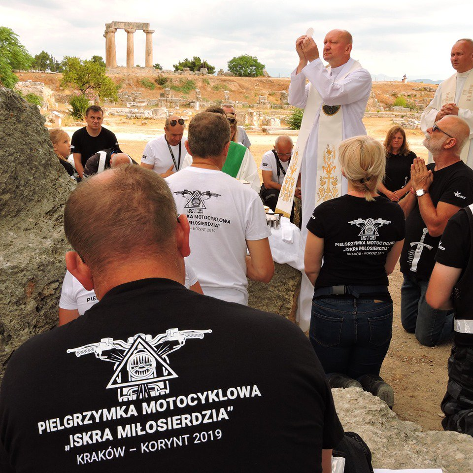 "Poland - Pilgrimage of motorcyclists ""Spark of Mercy"" in the footsteps of St. Paul https://t.co/gaR9D3bUtf https://t.co/zekoJ7utiV"