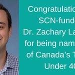 Image for the Tweet beginning: Congrats Dr. Zachary Laksman! 😀👏