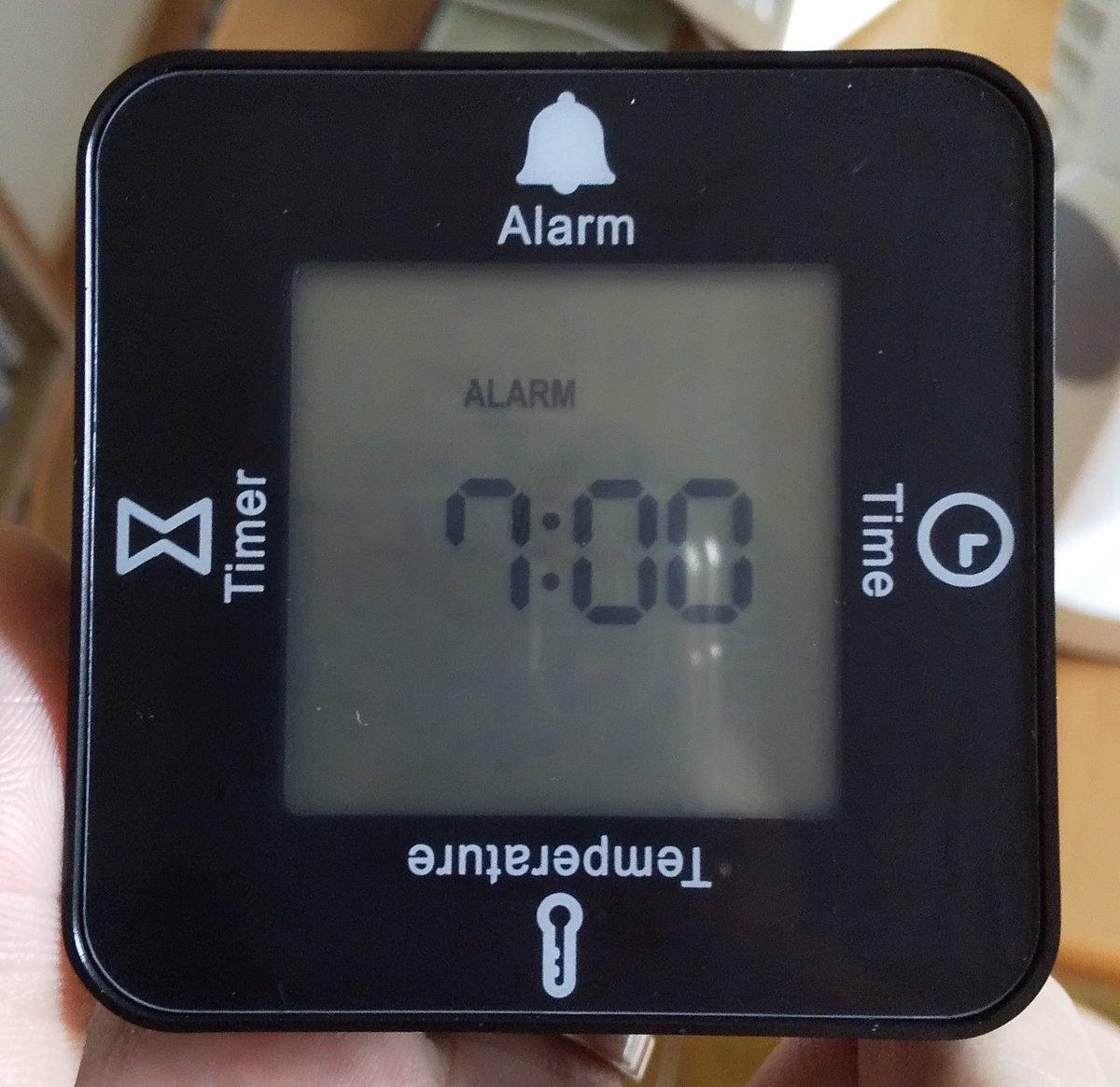 test ツイッターメディア - ネットで見つけたのダイソーで買ってきた。 時計、タイマー、アラーム、温度計があって向きを変えるだけでわかる。 これで200円はコスパ良し。 単4電池2本いるけど。 #ダイソー #DAISO https://t.co/YJObp80ihI