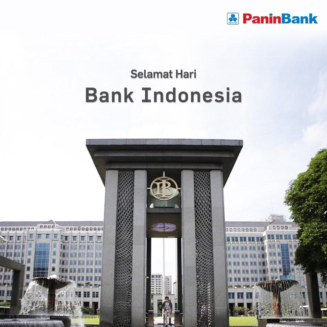 Selamat Hari Bank Indonesia! Semoga perbankan Indonesia semakin maju dan kokoh! #HariBankIndonesia https://t.co/Hlmcp0qxVV