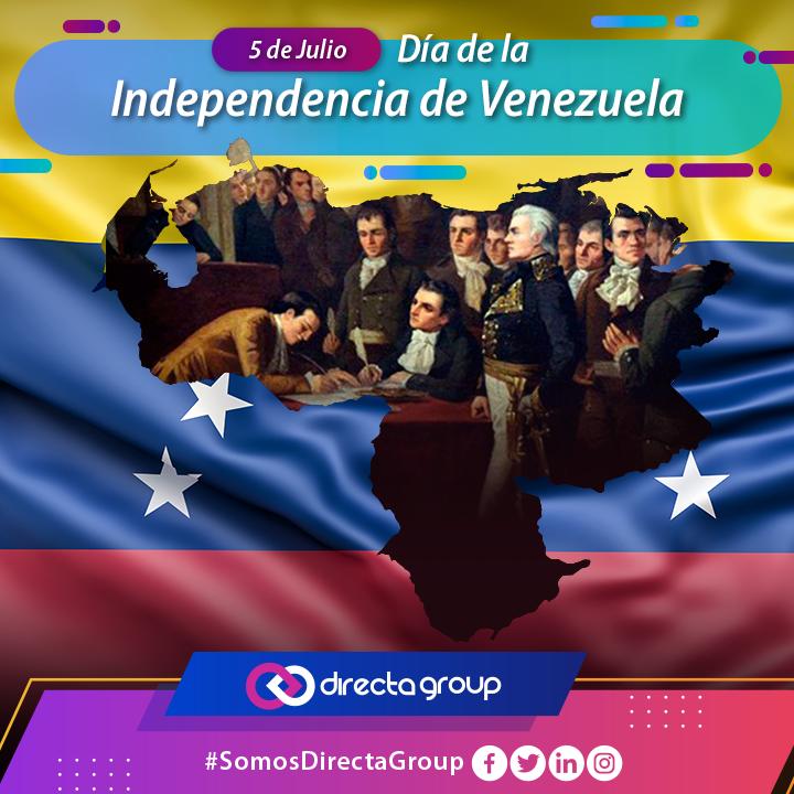 >> La independencia de Venezuela se logra por el sueño de Bolívar, Miranda y Rodrigues. Grandes pensadores ilustrados que marcaron un hito en el ideario venezolano.<<   #DiaDelaIndepencia #DimeVzla #FelizViernes  #Indepencia #Feriadopic.twitter.com/l5sLOldAsg