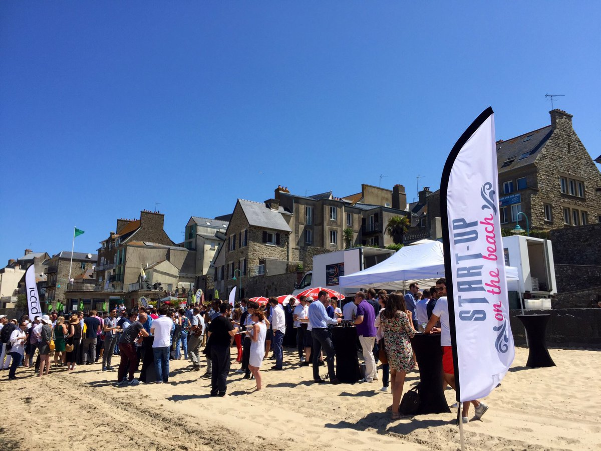 Today 50 #startups are gathered in #SaintMalo to meet #investors at our annual #event Startup on the beach  Good luck to everyone!  #SOTB #fundraising #demoday #acceleration #business #Brittany #beach<br>http://pic.twitter.com/MWmKIWCl9v