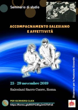 "RMG – Study #Seminar on ""Salesian #Accompaniment and #Affectivity"" https://t.co/OlTHyx3DjW https://t.co/j177QPGIxm"