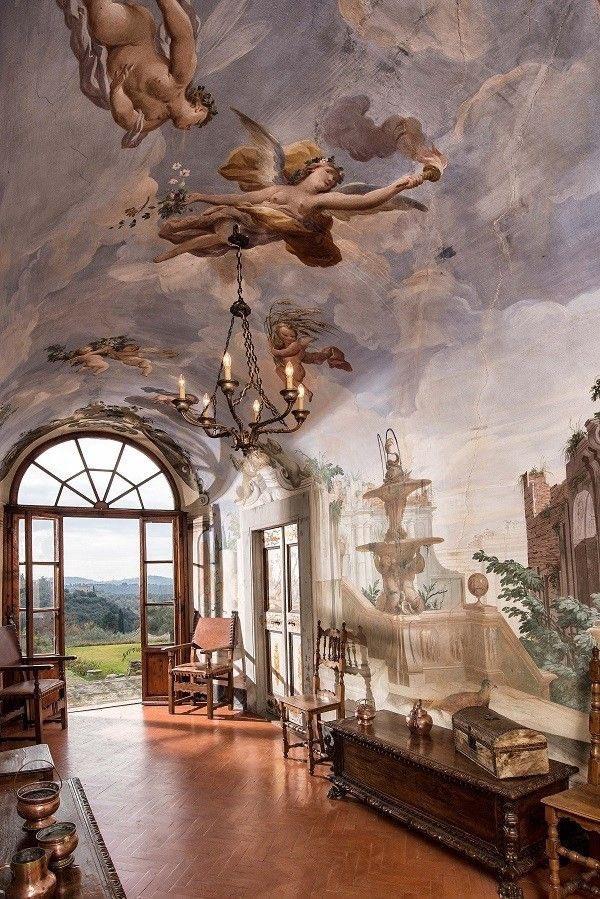 Villa Medicea di Lilliano in Florence, Tuscany