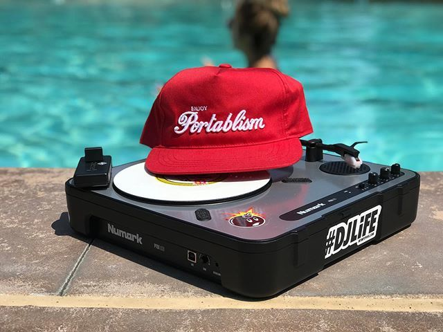 4 day weekend in full effect. How are you spending your Friday? #4dayweekend #4thofjulyweekend🇺🇸💥🇺🇸 #pooltime #portablist #portable #djpic #numarkpt01  #stokyo #kutterfader #mmp #mymp3pool #repost @djjimmyboy