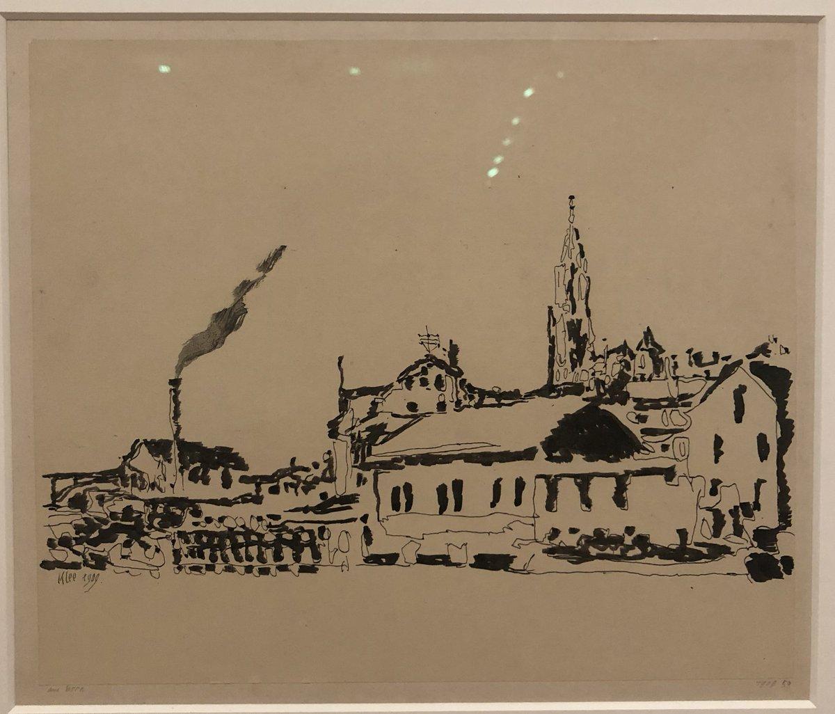 C'est sur ce dessin de #Berne par Paul Klee que s'achève cette journée (et ce thread) sur la capitale Suisse ! Demain je vous emmènerai à Lausanne 🇨🇭🇨🇭🇨🇭 #ilovebern #amoureuxdelasuisse