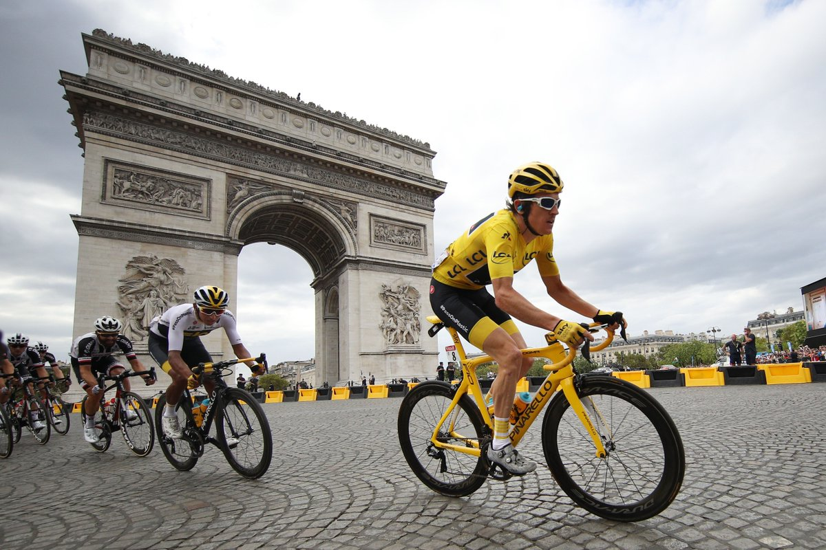 4c7de7d0263 Who is excited for the start of @LeTour? Hoping to see these two safely  onto the Champs-Élysées and one in Yellow again. Good luck boys! #Pinarello  ...