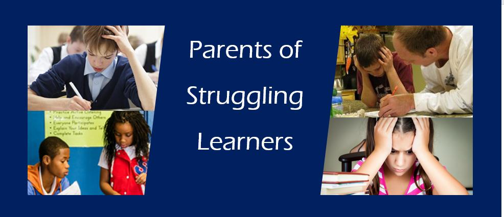 Do you know a parent of a struggling learner?  Let them know about our new Facebook Group . As a parent, it can be hard to find ways to support our children when their learning efforts don't meet with the success they are striving for. https://www.facebook.com/groups/parentsofstrugglinglearners/… #strugglinglearner