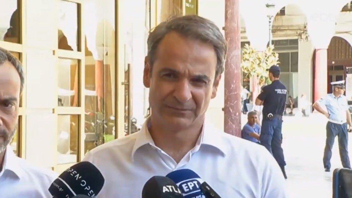 Και εδώ από τη Θεσσαλονίκη, ζητώ από τους πολίτες να έρθουν μαζικά να ψηφίσουν στις εκλογές της Κυριακής. Η συμμετοχή είναι το οξυγόνο της Δημοκρατίας. Και είμαι πεπεισμένος ότι η Ελλάδα είναι έτοιμη να γυρίσει σελίδα. #Ενωμένοι_Μπορούμε https://nd.gr/synantisi-toy-proedroy-tis-nd-k-k-mitsotaki-me-ton-neoklegenta-dimarho-thessalonikis-k-k-zerva…