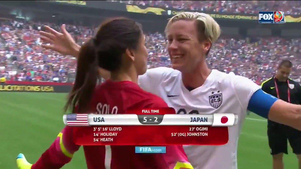 Women's World Cup final 7/7/19