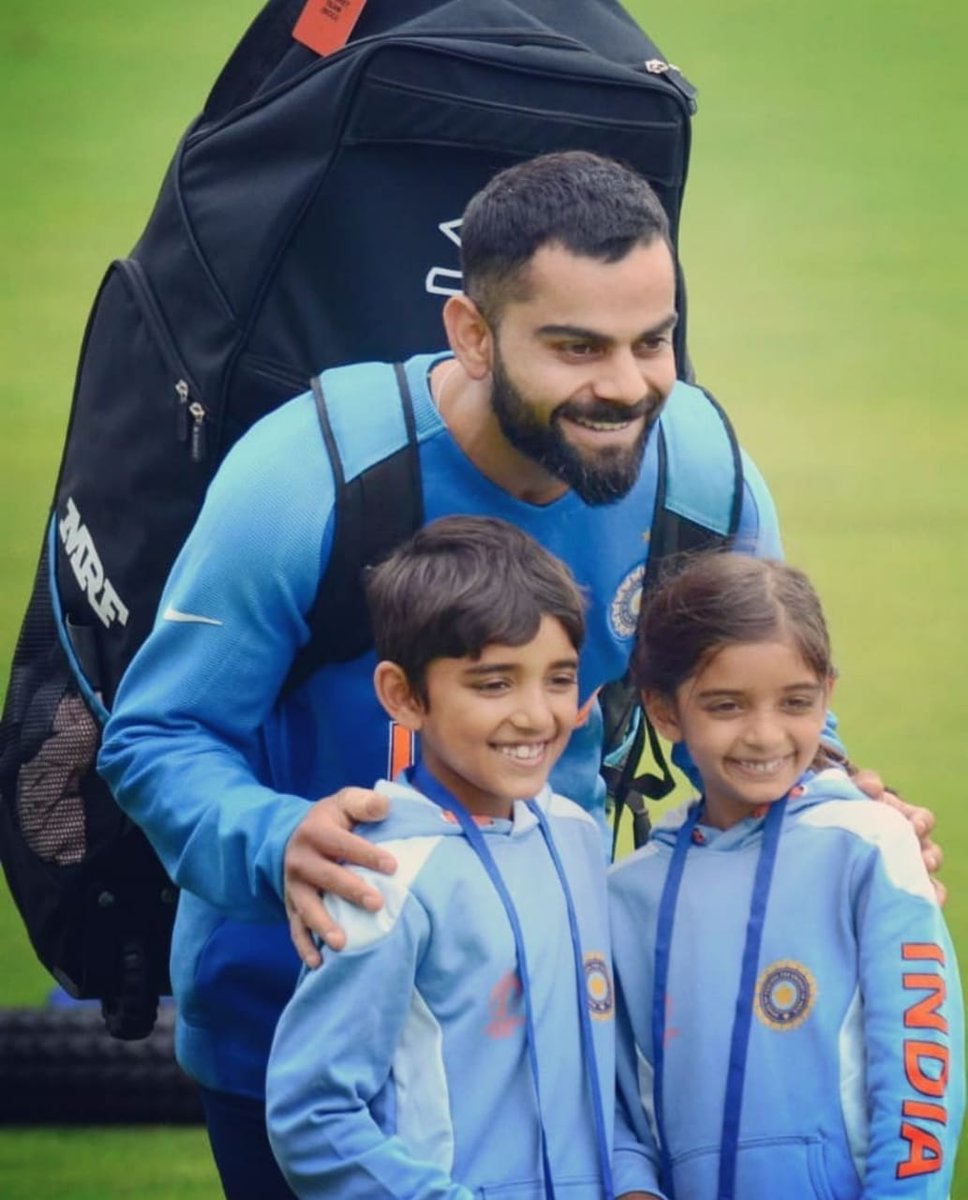 Smiles all around 🙂. Being able to inspire the future generation is a blessing. 😇