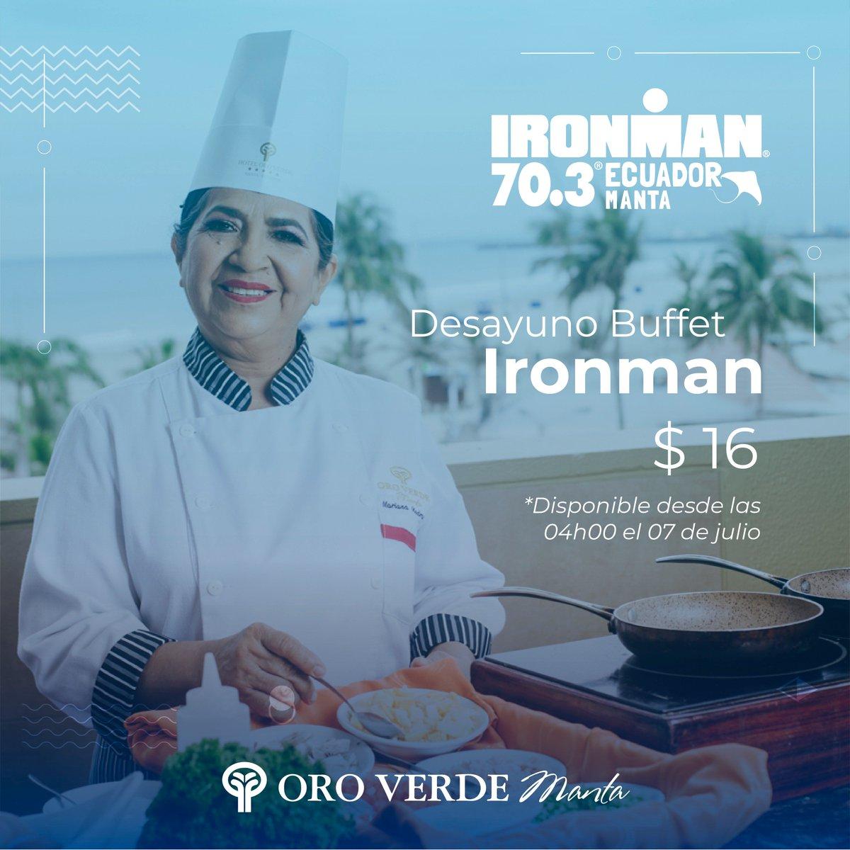 No te saltes ninguna comida, disfruta este 06 y 07 de julio el desayuno ideal para empezar el día en el Restaurante Buena Vista del Hotel Oro Verde Manta. 😎🌤️🤗 #Ironman7030Ecuador #OroVerdeManta https://t.co/sIh5Z7BoqN