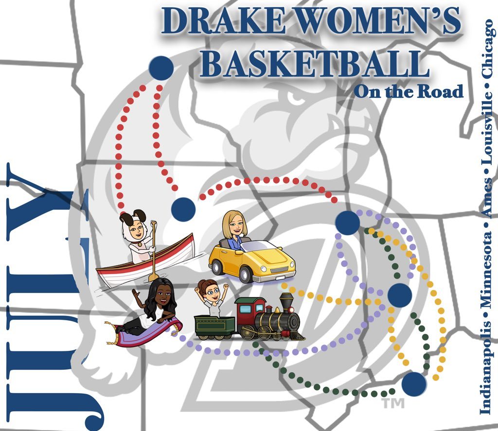 Social Media Posts for Drake University