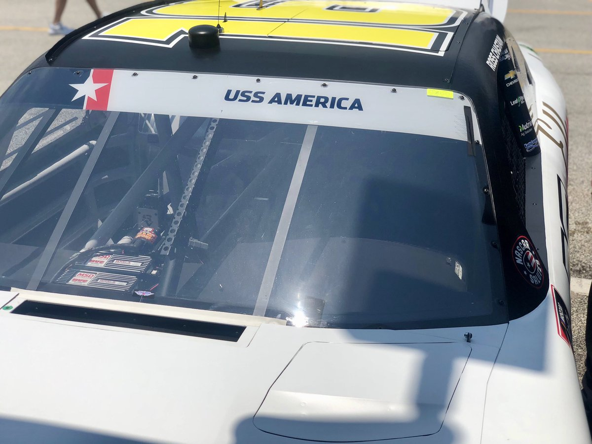 It's a special day for @KauligRacing. Not only will we be running 3 cars with 3 stellar drivers, but we will also be honoring 3 different units from the US military. NASCAR and Xfinity do a great job in honoring the men and women who fight/fought for our freedom. Thank you! #SM