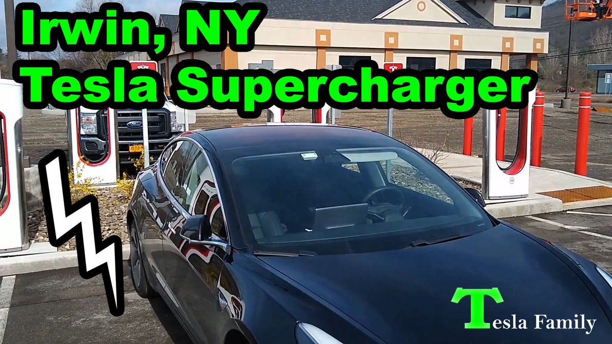 Check out the #Irwin #NewYork #Tesla #Supercharger, cost