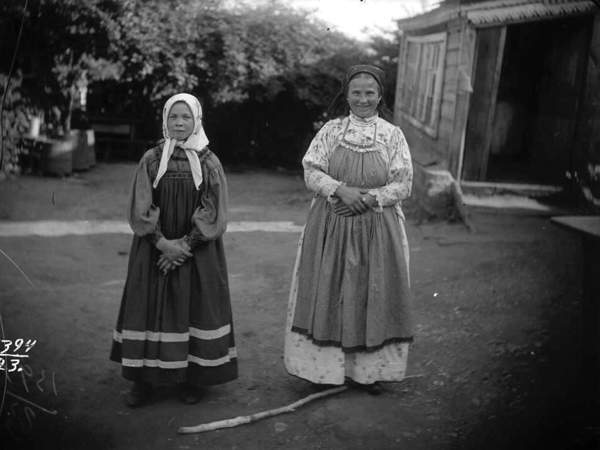 дореволюционные фото людей рязанской губернии чему снится одевать