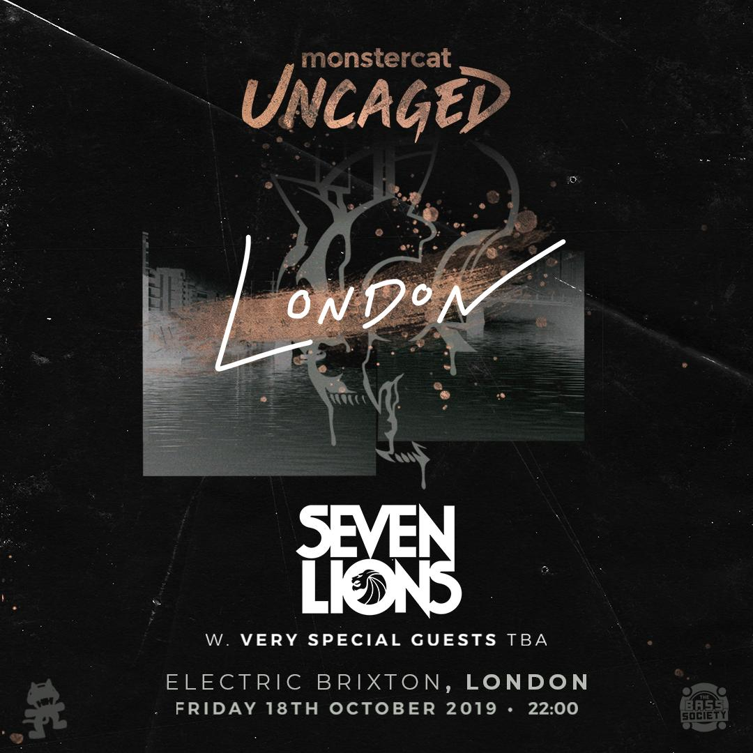Pre-sale Live now! Monstercat Uncaged 🇬🇧 London with
