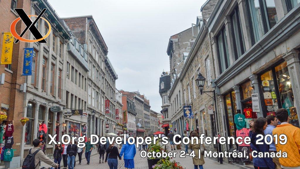 X org Developer's Conference 2019 (@xdc2019) | Twitter