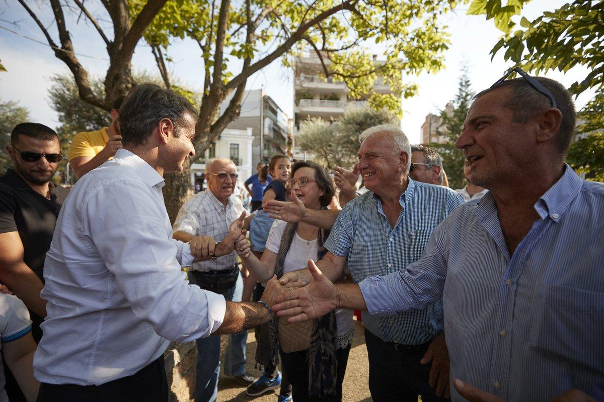 Έχω την υποχρέωση να ενώσω τους Έλληνες σε ένα κοινό όραμα. O ελληνικός λαός είναι έτοιμος να αφήσει πίσω του τα χρόνια της κρίσης. Και όσο πλησιάζουμε προς την κάλπη, εμείς οι πολιτικοί ολοένα και θα μιλάμε λιγότερο. Ο λόγος περνά πια στους πολίτες. https://nd.gr/enimerotiko-simeioma-apo-tin-periodeia-toy-proedroy-tis-nd-k-k-mitsotaki-stin-pieria-tin-imathia-kai…