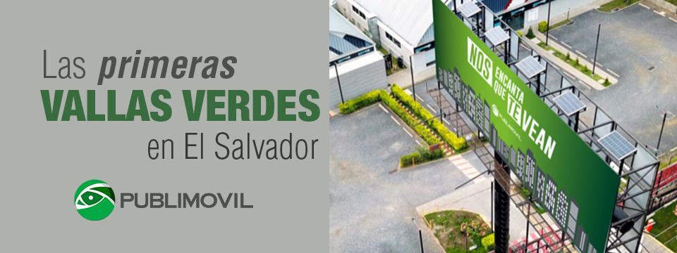 Las primeras vallas verdes en El Salvador porPublimovil. https://t.co/7kzZDXj1yp https://t.co/IuhTZAYaPW