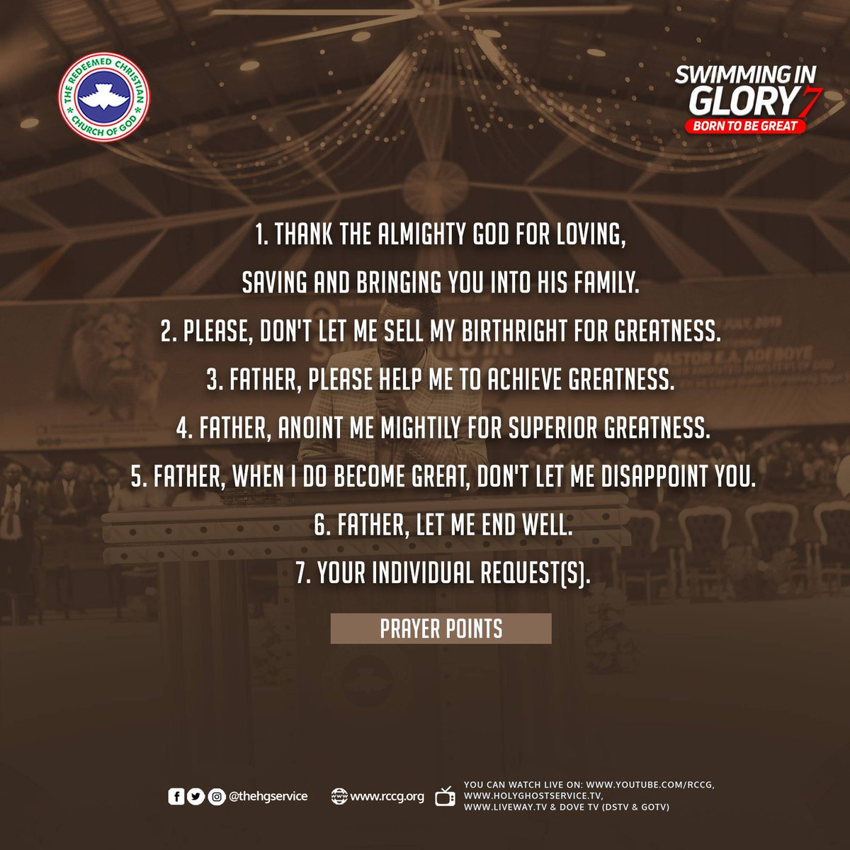 Holy Ghost Service on Twitter: