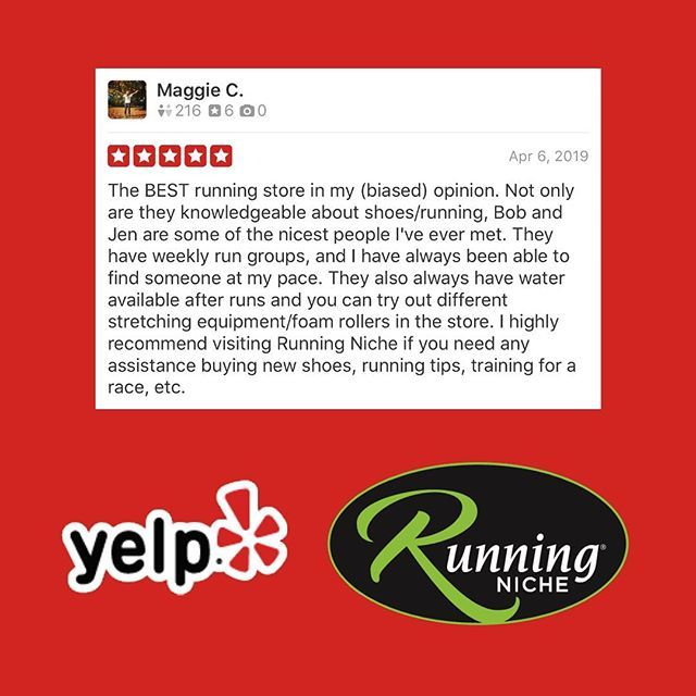 e2b163f77 Word of mouth has been our biggest strength since opening in the Grove in  May 2018! https://ift.tt/2JuGCI8 #RunningNiche #YelpSTL #TheGroveSTL  #RunningStore ...