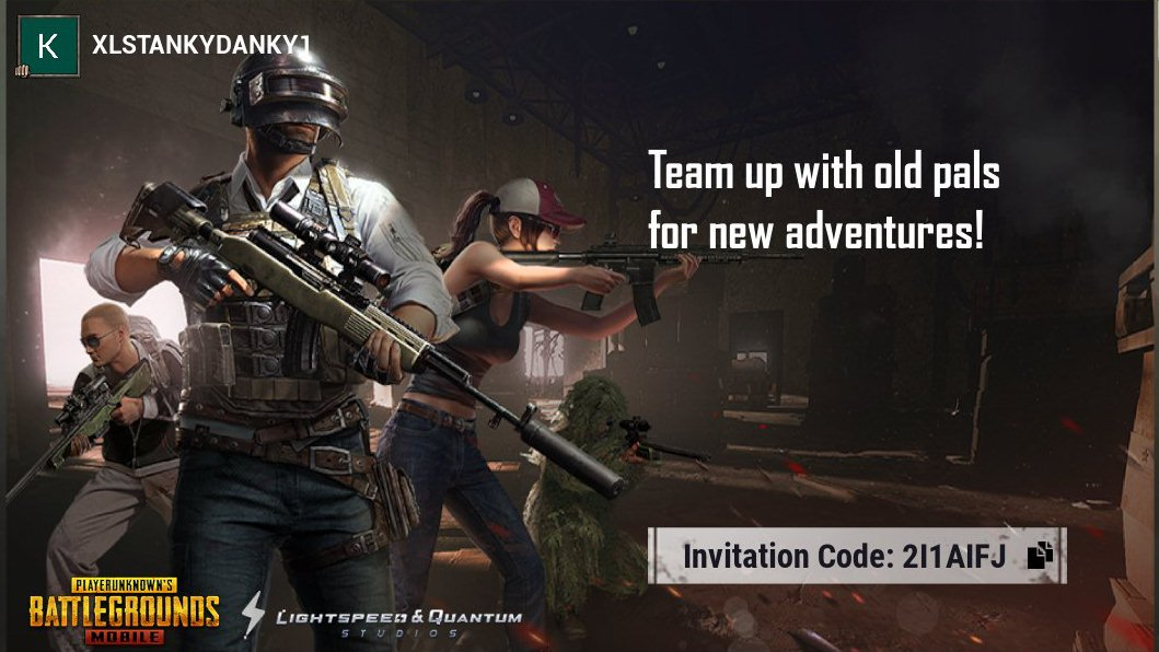 Tap the link and return to the battlefield! Invitation Code: 2I1AIFJ https://t.co/EKrcagcP1k https://t.co/Ou7yNHDzN5