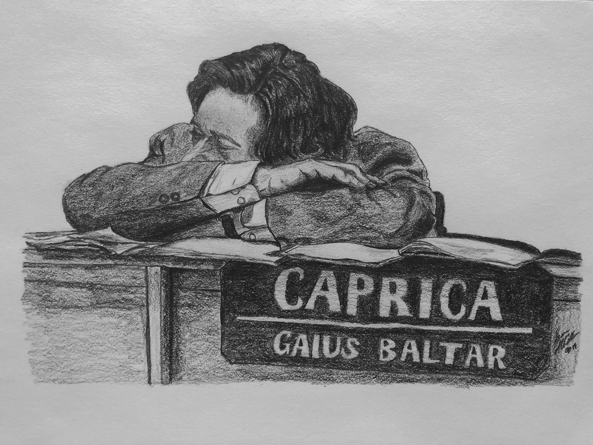BSG: the great statesman Gaius Baltar 😂 #BattlestarGalactica #BSG