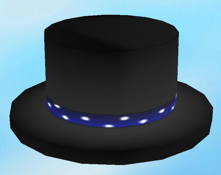 Ivy On Twitter Unused Jul 2010 Roblox Hat Midnight Top Hat