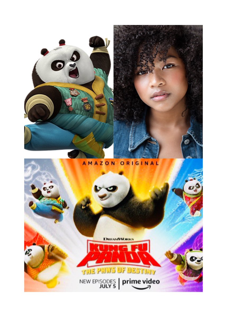 Watch now on @PrimeVideo ! #KungFuPanda #ThePawsOfDestiny Your girl voices #Jing Thanks for all the love and support! 🐼✨