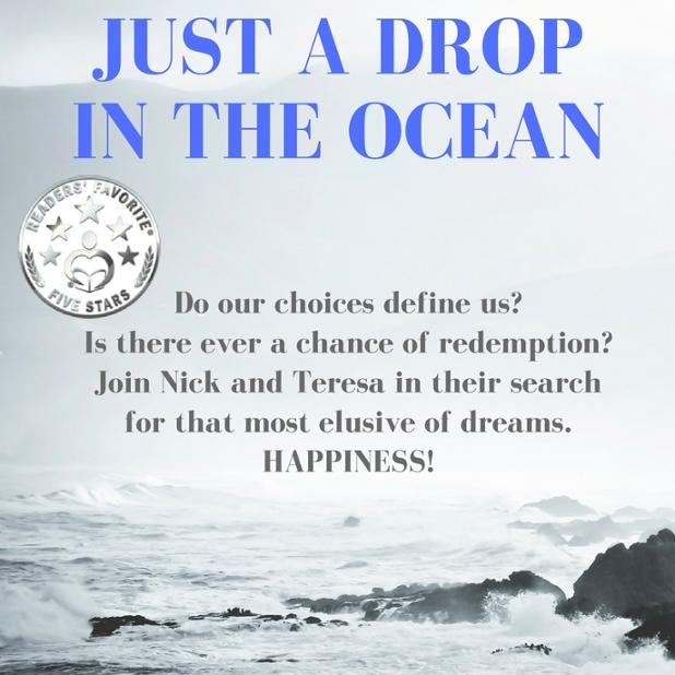 "Just A Drop in the Ocean   ⭐️⭐️⭐️⭐️⭐️ Review:  ""It's a beautiful and heartwarming story and you really feel their delight when their lives really come together.""  Love conquers all  http://getbook.at/JustADrop    #Romance #heartbreak #CoPromos @GLeishmanAuthor"
