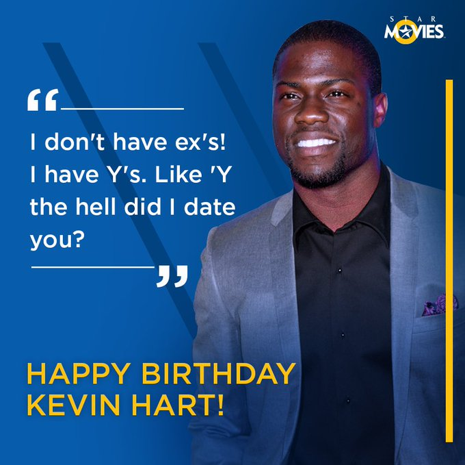 This birthday boy sees the funny side of any sad situation! Happy Birthday, Kevin Hart!