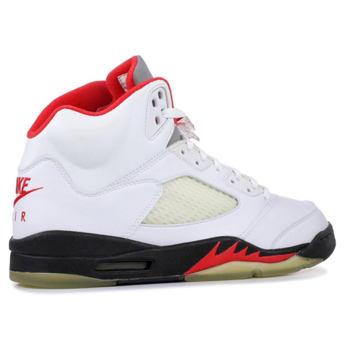 reputable site 7c1cc d6fb5 2020 Air Jordan Retro 5 #FireRed #NIKEAIR True White/Fire ...