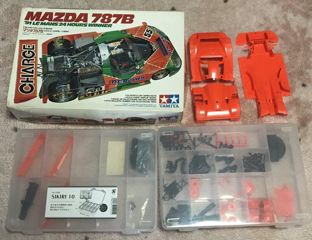 タミヤ 1/24 スポーツカーシリーズ No.352 マツダ 787B プラモデル 24352に関する画像9