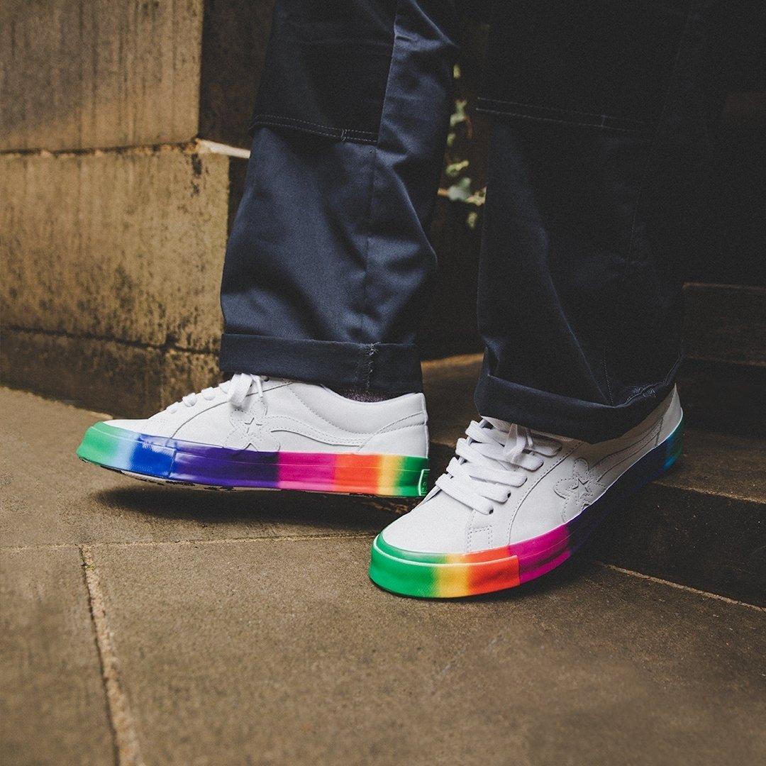 Converse x GOLF le FLEUR 'Rainbow