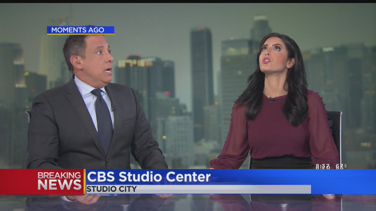Cbs Los Angeles On Twitter Watch Kcal9 S Anchors React As 7 1 Magnitude Earthquake Rolls Through Southern California Https T Co Ixhetvpxj7