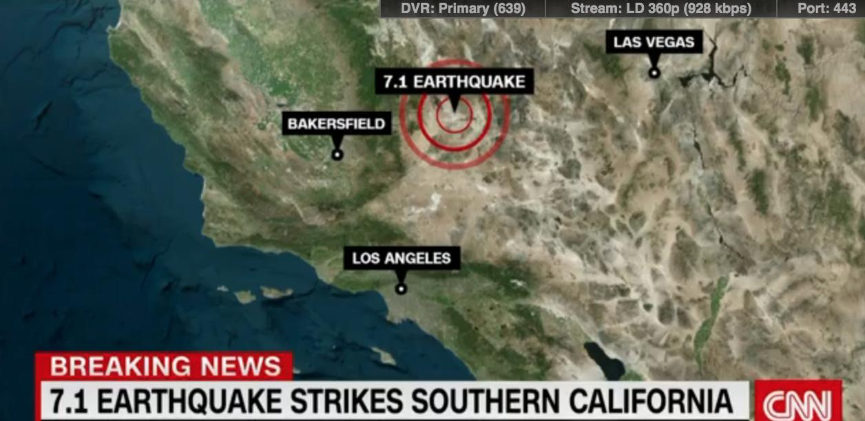 State Of Emergency Declared After 7.1 Quake Rocks Southern California…