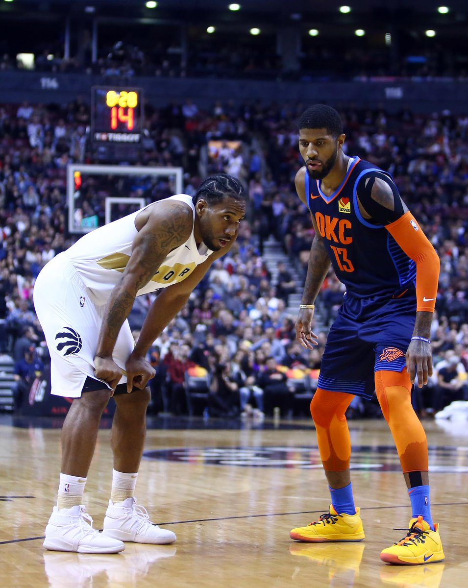 Breaking: Kawhi Leonard and Paul George will be heading to the LA Clippers, per @wojespn.