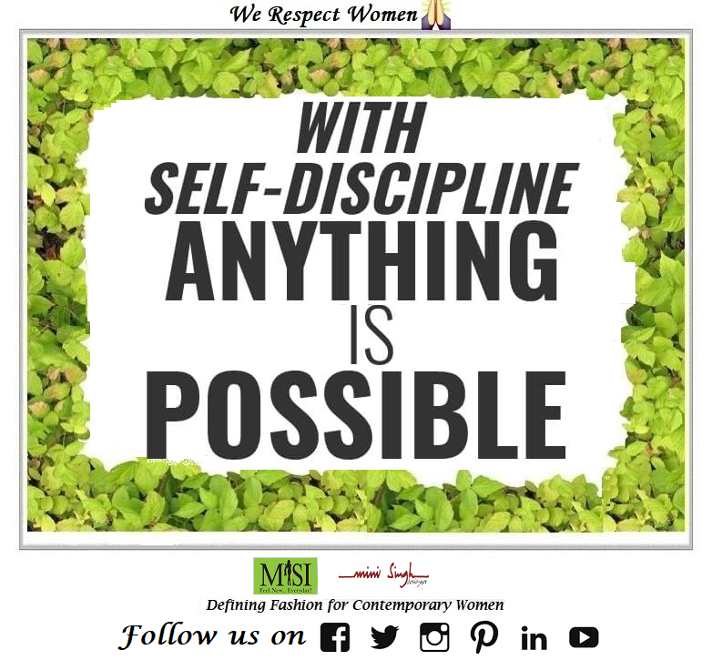 #Self-#Discipline and #dedication makes impossible #possible. Good #Morning! Have A #Nice Weekend!! #Minisinghwishes #Minisinghmotivation #Minisinghinspiration #Minisinghoptimism #MinisinghPositivity #MinisinghThoughts