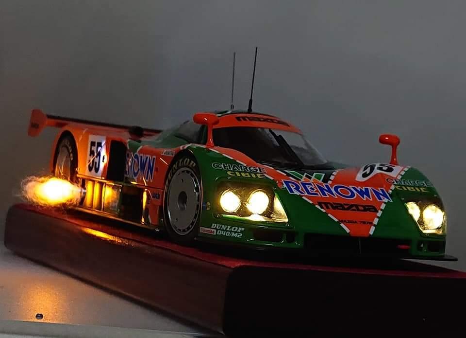 タミヤ 1/24 スポーツカーシリーズ No.352 マツダ 787B プラモデル 24352に関する画像24