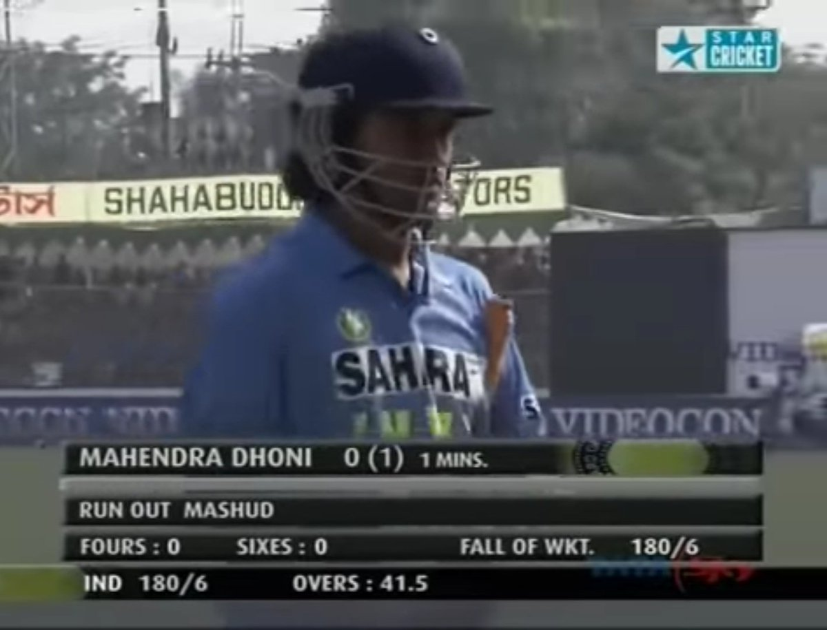"Johns. on Twitter: ""Dhoni made his debut on 23rd december 2004 ..."