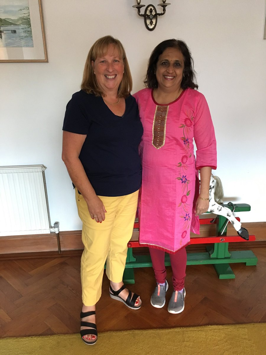 Great to welcome Deepa Pradhan to Edinburgh from Mumbai. We discussed our curricula and possibilities for future shared learning activities. @QMUniversity @QMU_OT @ot_joanna @ProfBrendan