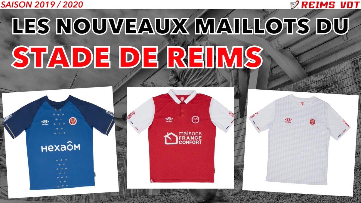 Reims Vdt On Twitter Les Nouveaux Maillots Du Stade De