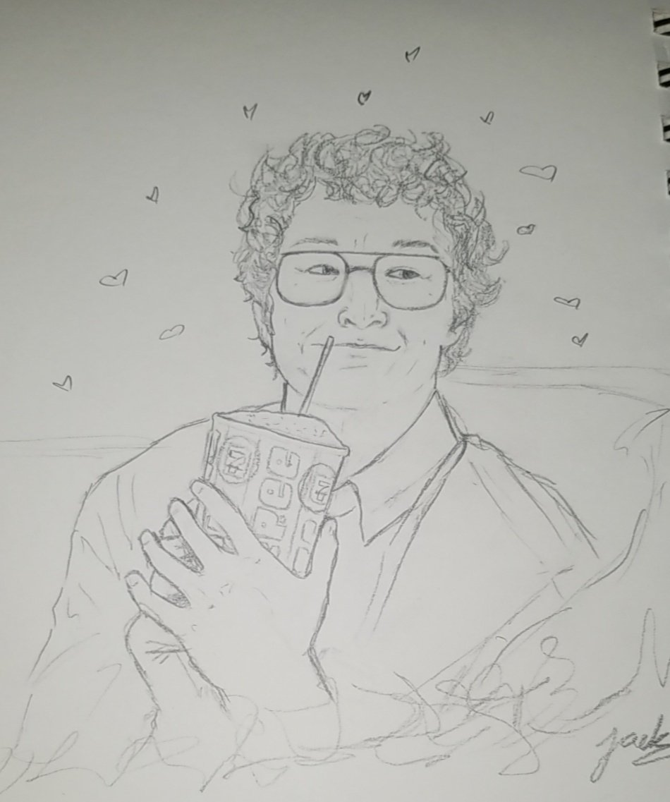 "I had to draw him again ♡ ""The most dangerous man in the world"" #StrangerThings #justiceforalexei <br>http://pic.twitter.com/jKgosnNNzM"