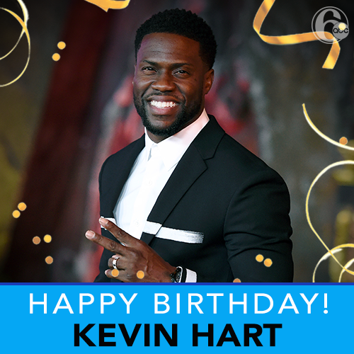 A big happy birthday to comedian and Philly native, Kevin Hart!