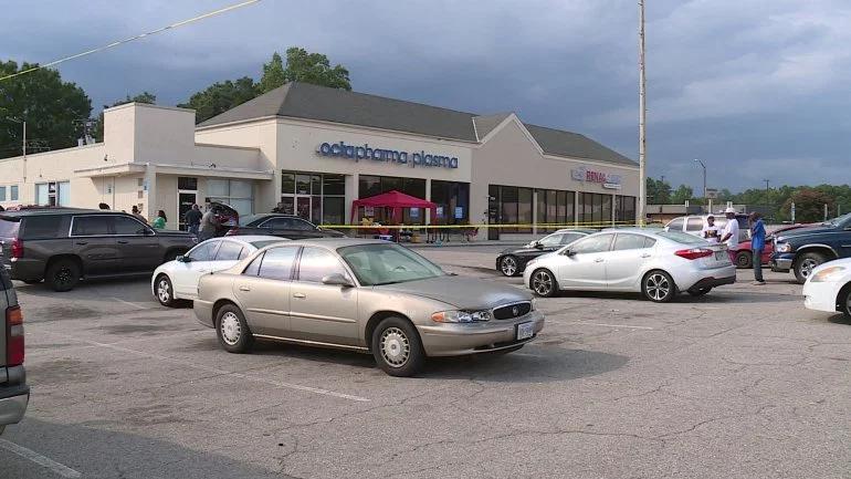 3 stabbed at Petersburg Virginia plasma center