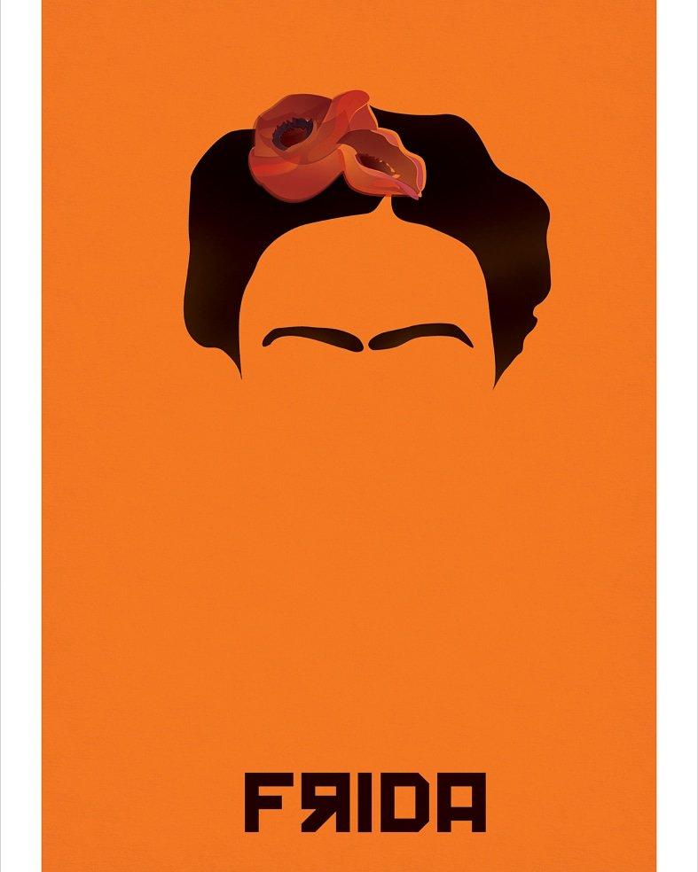 Има само ден на рагање 6 јули 1907 - ФРИДА .Инспирација да направам неколку нејзини портрети #FridaKahlo