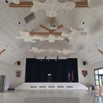 Inauguration de la salle générationnelle et du gymnase à Saint Julien, chez mon ami le maire Michel Lenoir. Un magnifique travail de sa part et de son équipe.