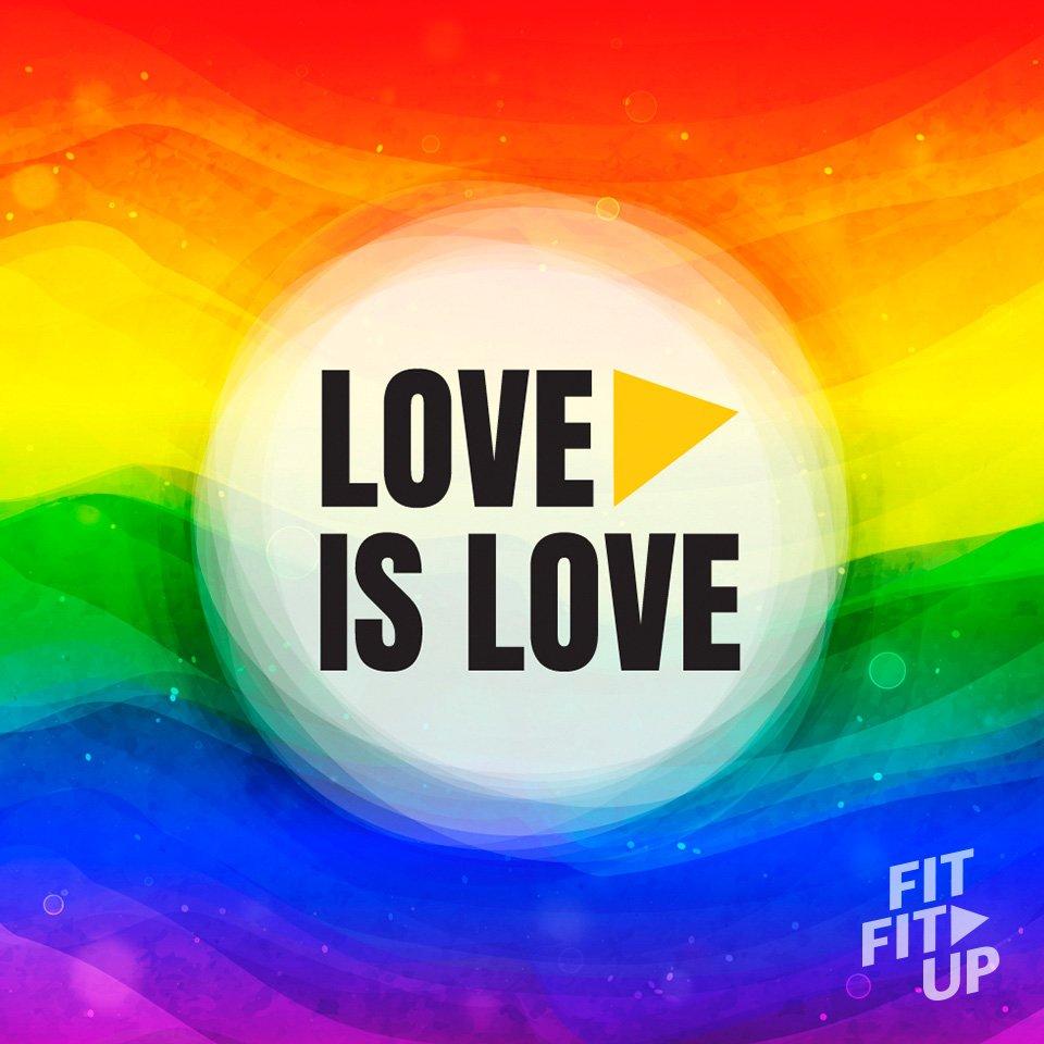 Image for the Tweet beginning: Love is love #Pride
